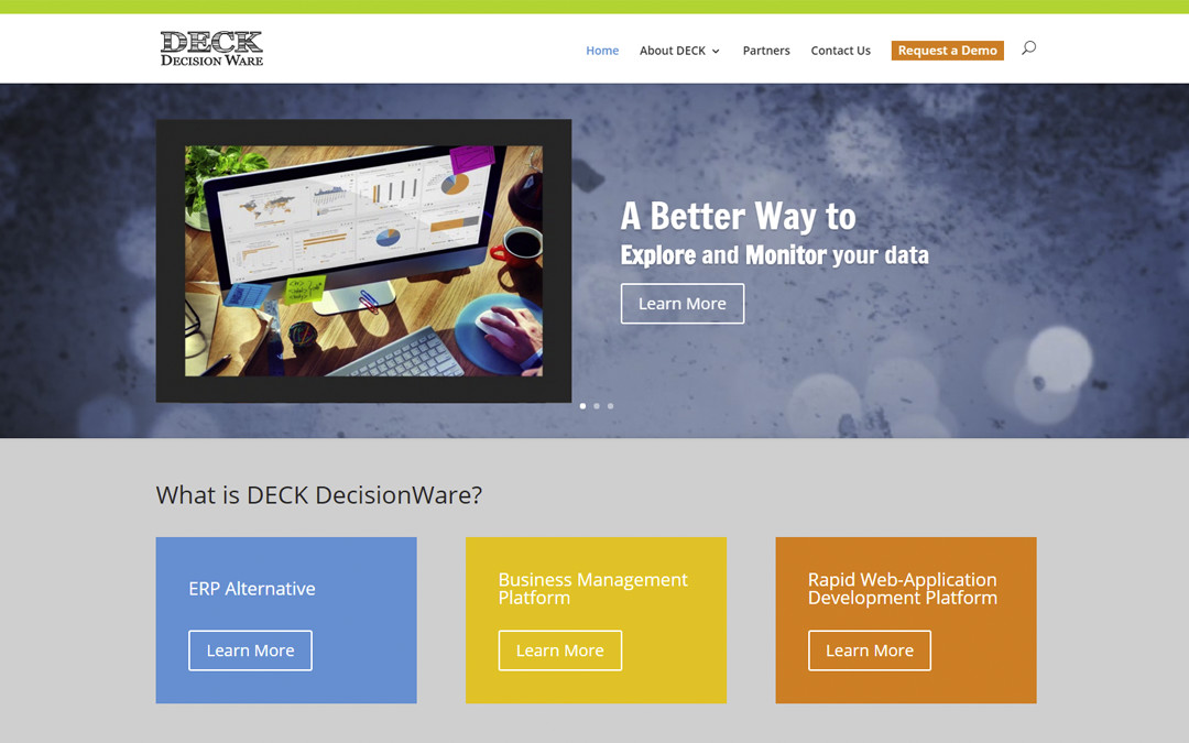 New Website for DECK DecisionWare Launched!